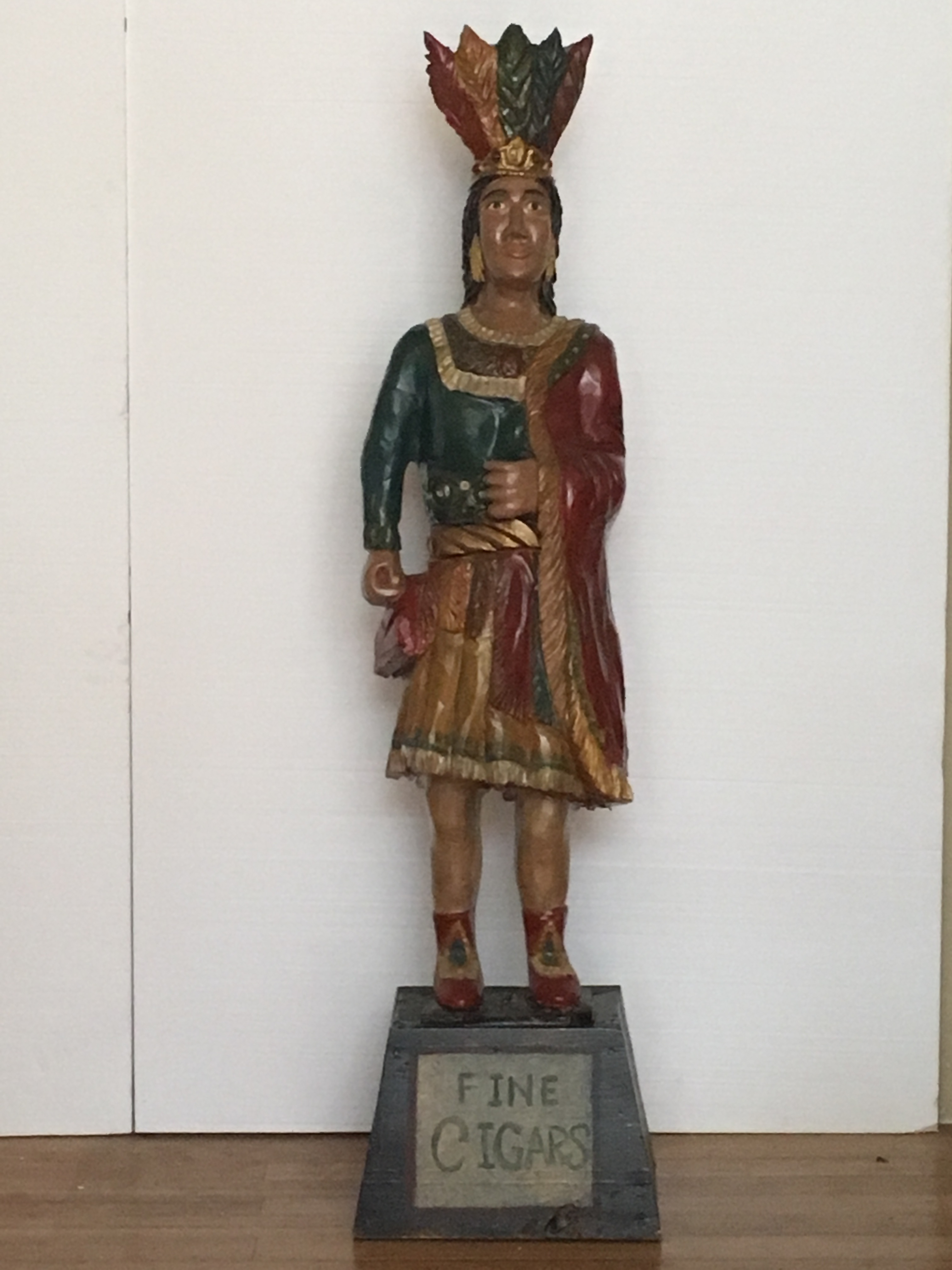 Wood Cigar Store Indian Statues And Figures With History And Origin